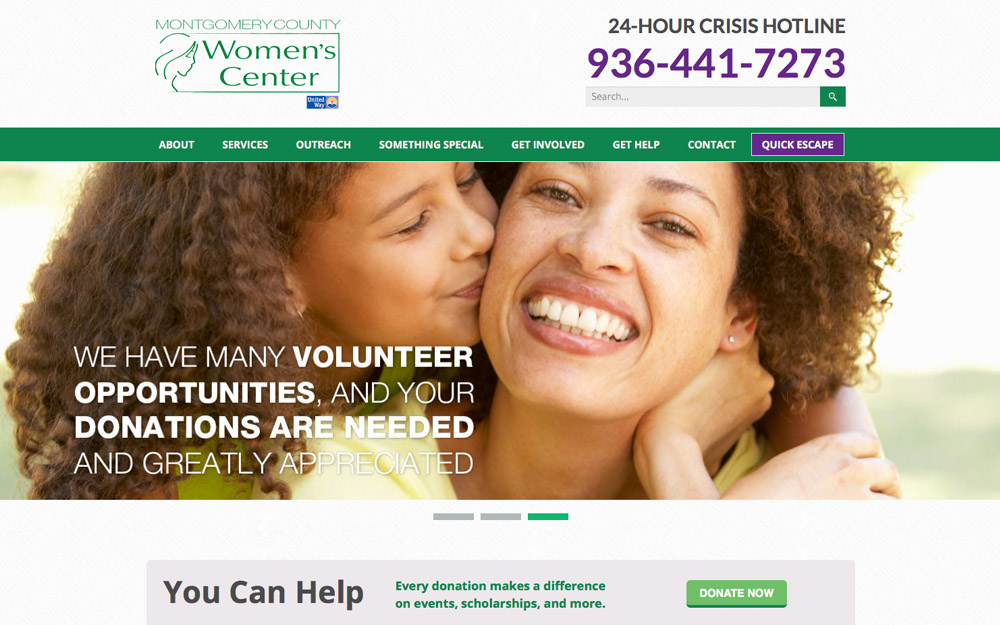 womens center design and development